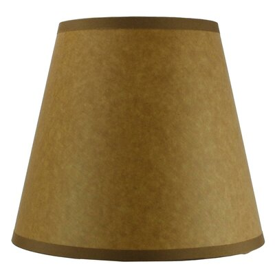 8 Shantung Empire Lamp Shade Color: Brown