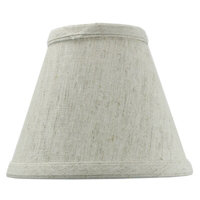 6 Shantung Empire Candelabra Shade Color: Oatmeal