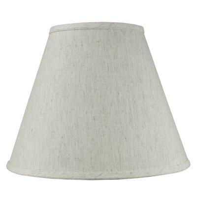 14 Shantung Fabric Empire Lamp Shade Color: Oatmeal