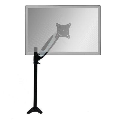 Height Adjustable Universal Desk Mount Finish: White