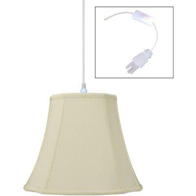 1-Light Pendant Size: 11 H x 14 W x 14 D