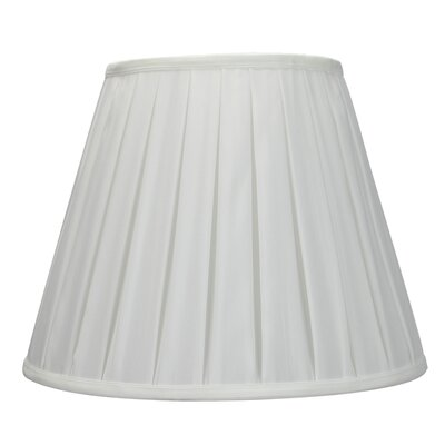 14 Metal Empire Lamp Shade Color: White