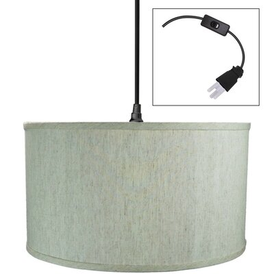 Blais 1-Light LED Drum Pendant