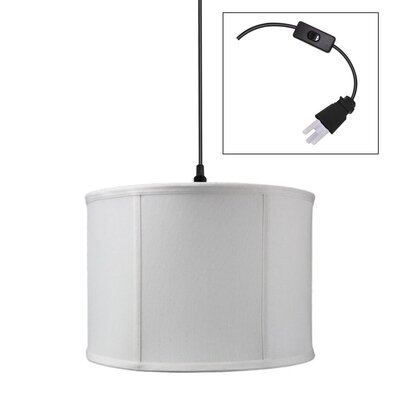Justine 1-Light LED Drum Pendant