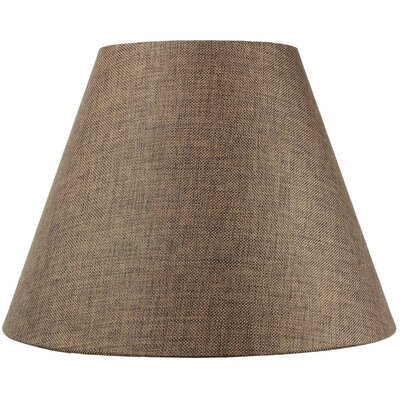16 Fabric Empire Lamp Shade Color: Chocolate