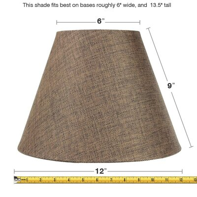 Slip Uno 12 Fabric Empire Lamp Shade
