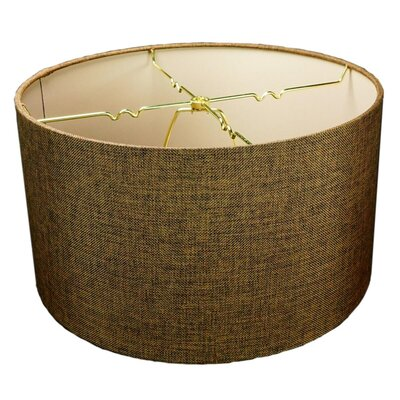 Triston 1-Light Drum Pendant Shade Color: Chocolate