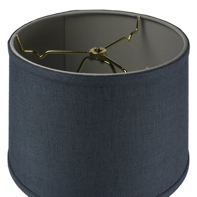 Blackshire 1-Light Drum Pendant Shade Color: Blue Slate, Size: 8 H x 12 W x 12 D