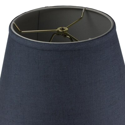 Josephine 1-Light Inverted Pendant Shade Color: Textured Blue Slate