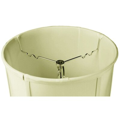 Jillian 1-Light Drum Pendant Shade Color: Eggshell