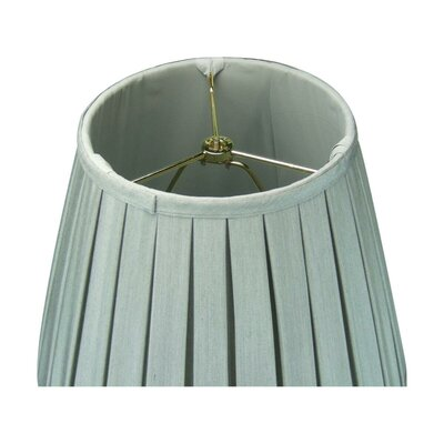 Joshua 1-Light Inverted Pendant Shade Color: Gray