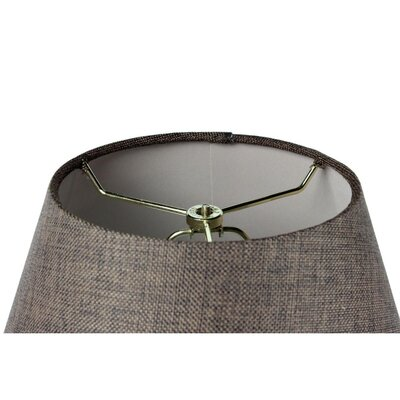 Kenneth 1-Light LED Inverted Pendant Shade Color: Chocolate