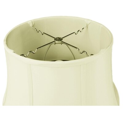 Judith 1-Light Inverted Pendant Shade Color: Eggshell