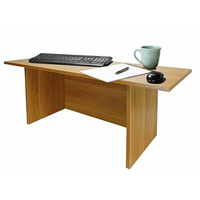12 H x 36 W Standing Desk Conversion Unit Finish: Dark Red Cocoa