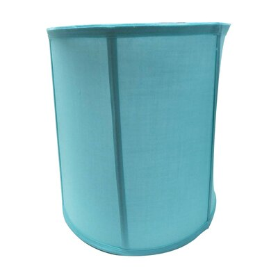 Modern 12 Linen Drum Lamp Shade Shade Color: Blue