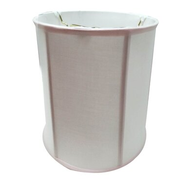 Modern 12 Linen Drum Lamp Shade Shade Color: Pale Dogwood