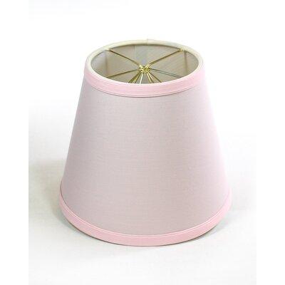 7 Clip on Linen Empire Lamp Shade Finish: Dogwood Pink