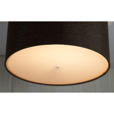 Diffuser Translucent 17 Linen Drum Lamp Shade