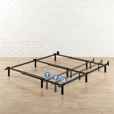 Heavy Duty Adjustable Bed Frame Size: Twin/Full/Queen