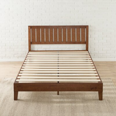 Shaunte Solid Wood Platform Bed Size: Full