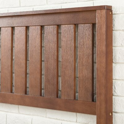 Shaunte Solid Wood Platform Bed Size: King