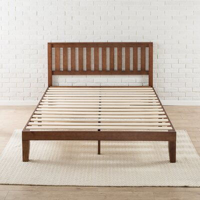 Dalila Solid Wood Platform Bed Size: King