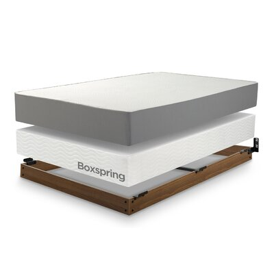 Winston Wood Bed Frame for Box Spring Size: King