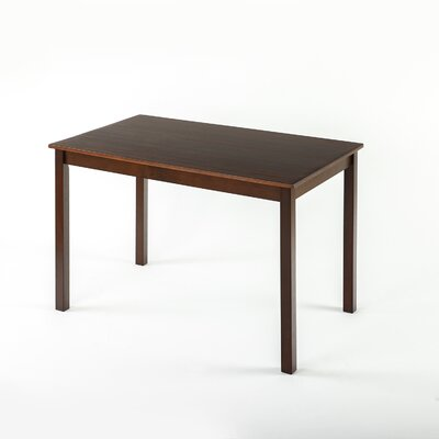 Erica Espresso Wood Dining Table