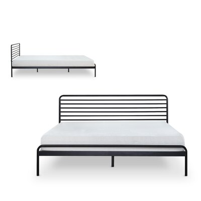 Metal Platform Bed Size: King