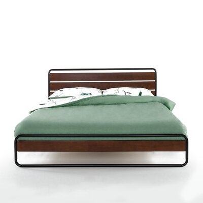 Barba Platform Bed Size: Twin