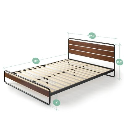Duluth Platform Bed Size: Queen