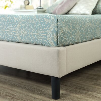 Stanhope Arched Upholstered Platform Bed Size: Queen