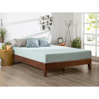 Baley Solid Wood Platform Bed Size: Queen