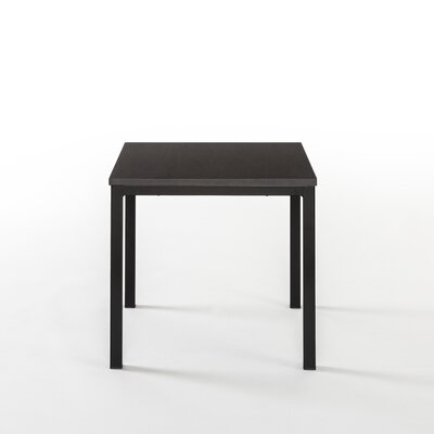 Walser Square End Table Color: Black