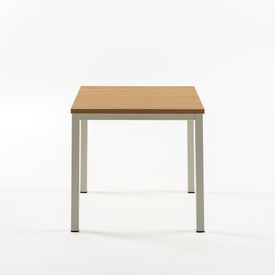 Walser Square End Table Color: White