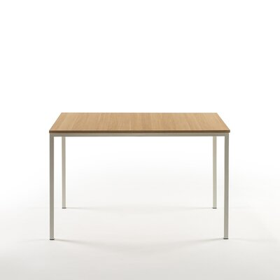 Walser Dining Table Color: White