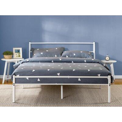 Roybal Metal Platform Bed Size: Queen