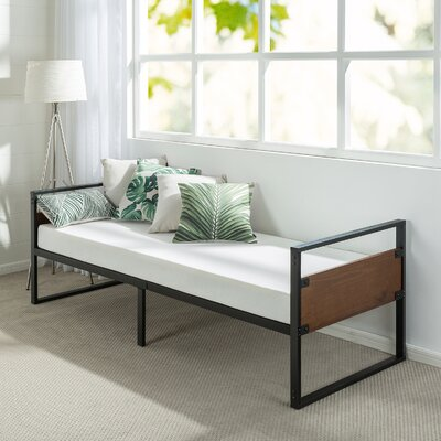 Kilby Narrow Frame Day Bed with Foam Mattress