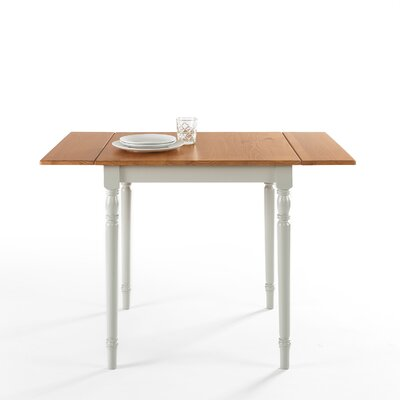 Basilio Wood Drop Leaf Dining Table