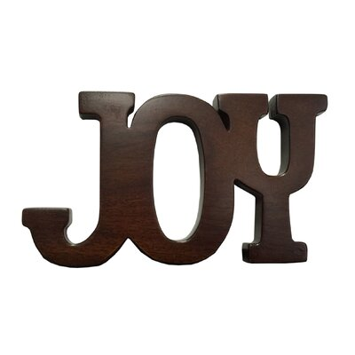 Wood Sign Joy 2 Piece Set Wall Decor