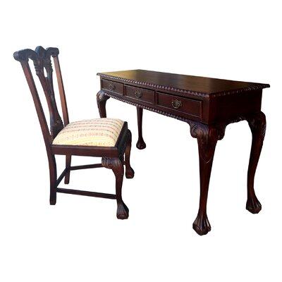 Outstanding Side Chair Writing Desk Seat Product Photo