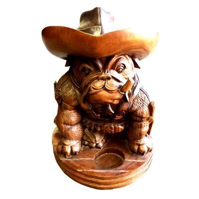 Bulldog Cowboy Statue DA-ST 1100