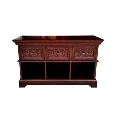 Trafalgar Carved Front 50 TV Stand