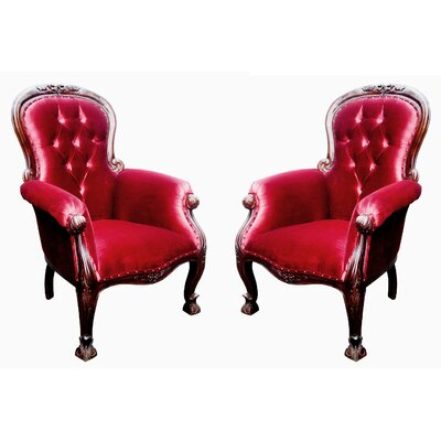 Bliven French Grandfather Armchair
