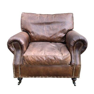 Custis Leather Club Chair