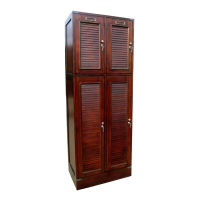 Louvered Armoire