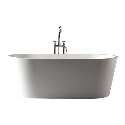 Kate 67 x 31.5 Free-Standing Tub