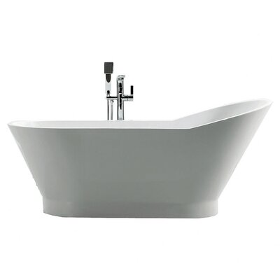 Dove 67 x 27.875 Soaking Bathtub