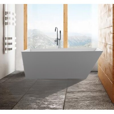 Scarlet 59 x 31.5 Soaking Bathtub