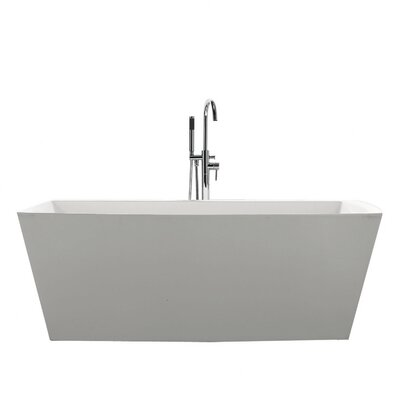 Sessile 67 x 28.75 Soaking Bathtub